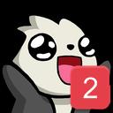 Panda Emoji 2