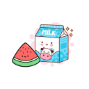 •Milk & Melon•