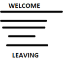 Welcome and Leaving Logs